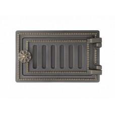 Дверка поддувальная ДП-2 (БРОНЗА) ВЕЗУВИЙ