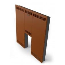ТМФ Экран фронтальный Термофор Мини, стандартная дверца, терракота Т