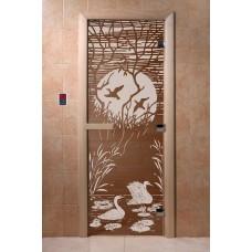 """Дверь бронза """"Лебединое озеро"""" DoorWood"""