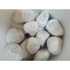 Белый кварцит (обвалованный ведро 20кг)