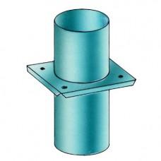 Компенсатор расш. без вент.отверстий D140, нерж (Hart)