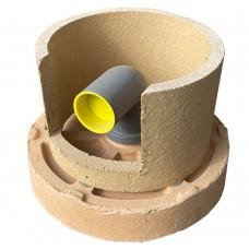 Керамический цоколь + слив конденсата с крышкой D160 (Hart)