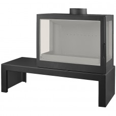 LISEO CASTIRON LCI 7 GFLR Table, два боковых стекла