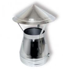 ВУЛКАН Зонт DAH D180 с изол.50мм нерж321/нерж304