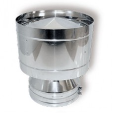 ВУЛКАН Дефлектор DDH D130 с изол.50мм нерж321/нерж304