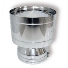 ВУЛКАН Дефлектор DDH на трубу D104 с изол.50мм нерж321/нерж304