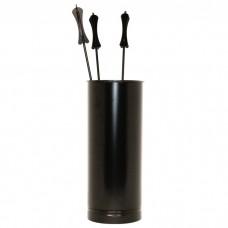 ВУЛКАН Каминный набор VKN011-R9005 черный
