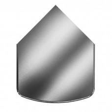 ВУЛКАН Предтопочный лист VPL041-INBA 1000х800 зеркальный